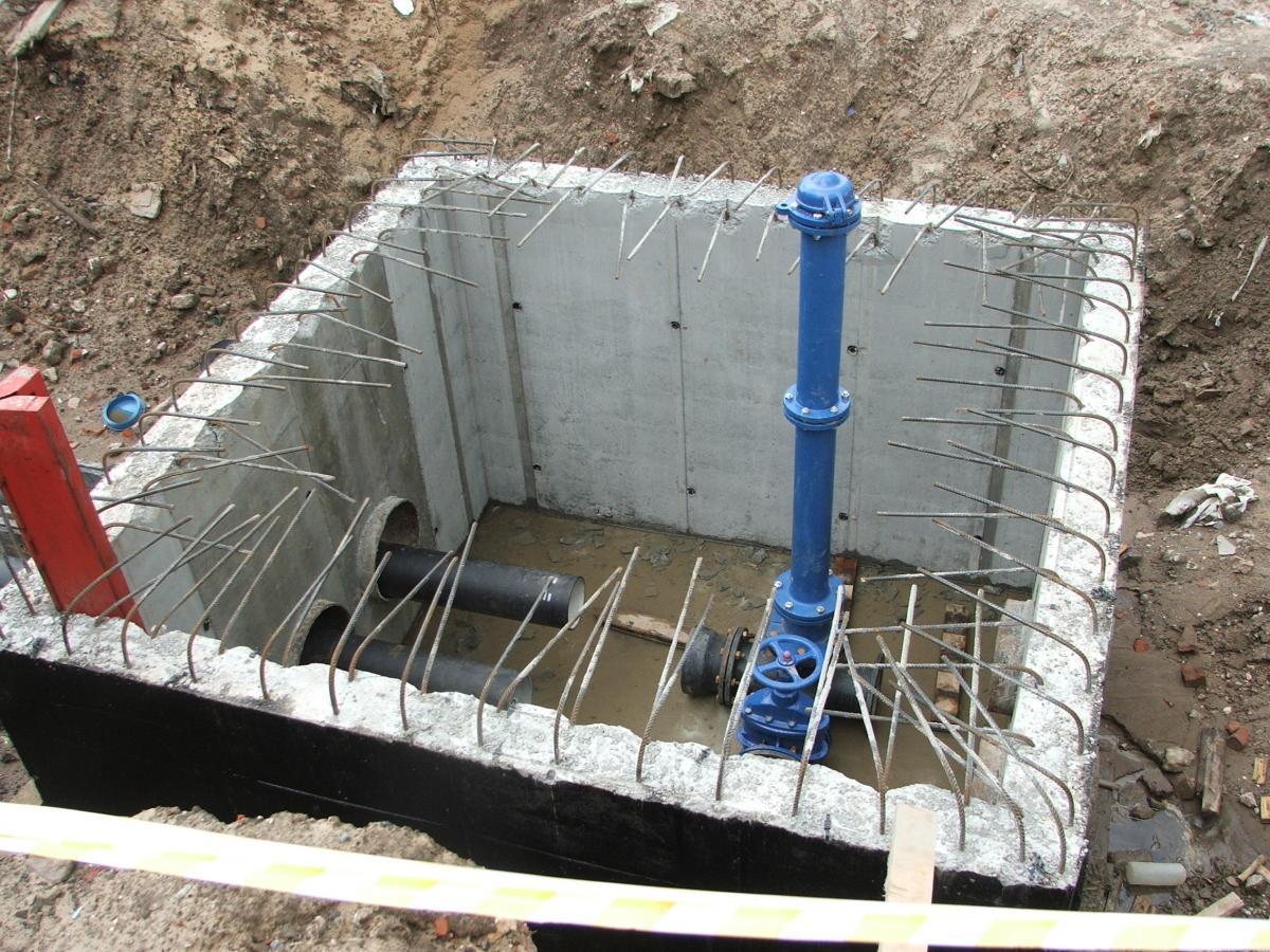 устройство водопровода и канализации в коттедже схема генплана