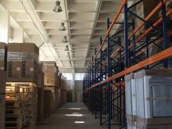 Введение в эксплуатацию первой очереди складского комплекса.