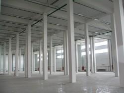 Завершение отделочных работ склада.