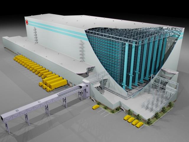 Применение новых технологий при строительстве логистических объектов