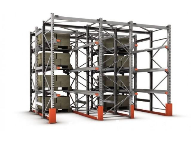 Использование стеллажных систем хранения при высоком грузообороте
