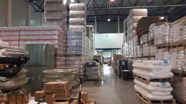 Проблемы Московских складов