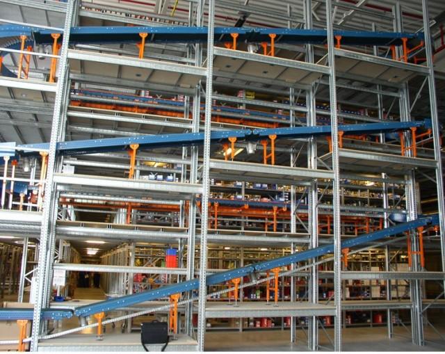 Использование сортировочных конвейеров на складе
