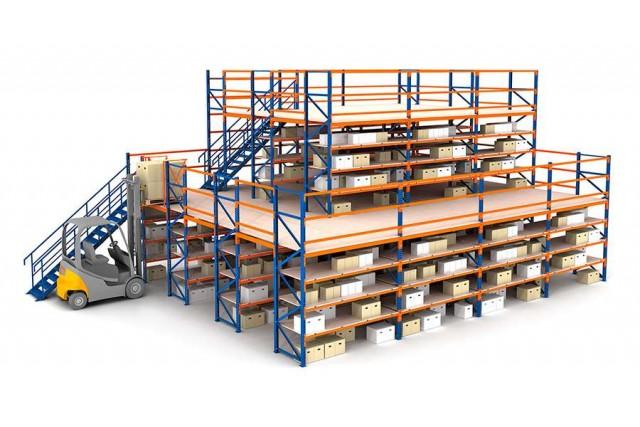 Особенности складов на базе стеллажных конструкций