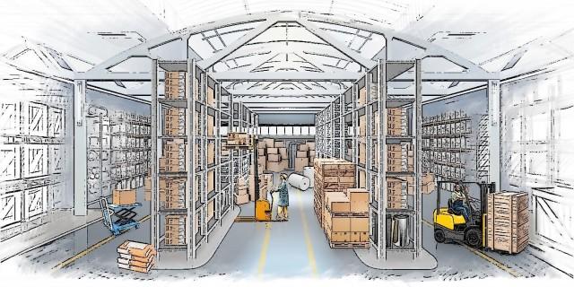 Сетевой ритейл формирует спрос на склады