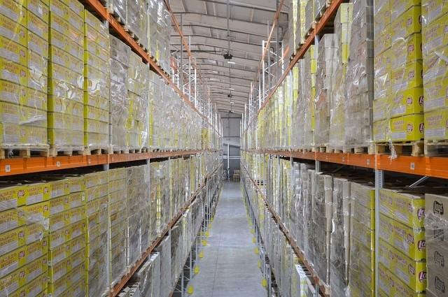 В Подмосковье открыт самый высокий склад в Европе