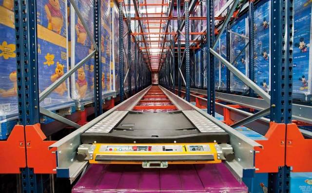 Использование радиошаттлов как способ автоматизации склада