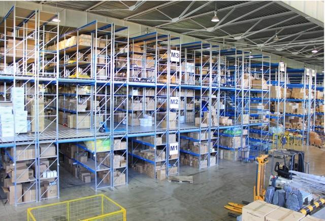 Организация складского хранения с применением мезонина